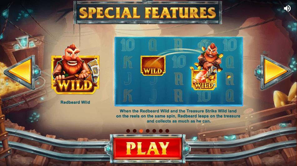 treasure mine game play casino