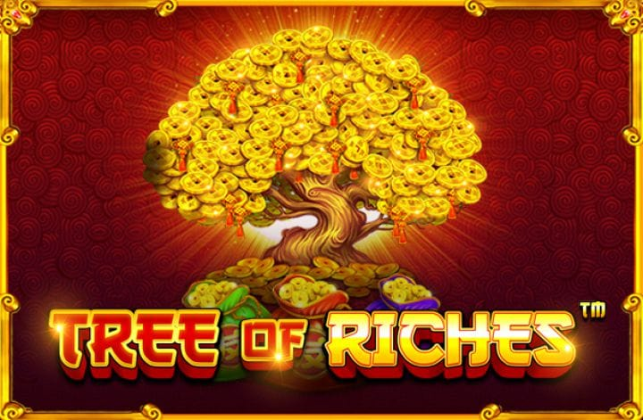 tree of riches slot game logo