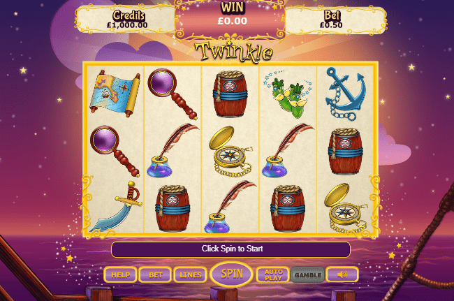 Twinkle Jackpot gameplay