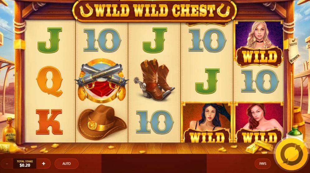 wild wild chest game spins