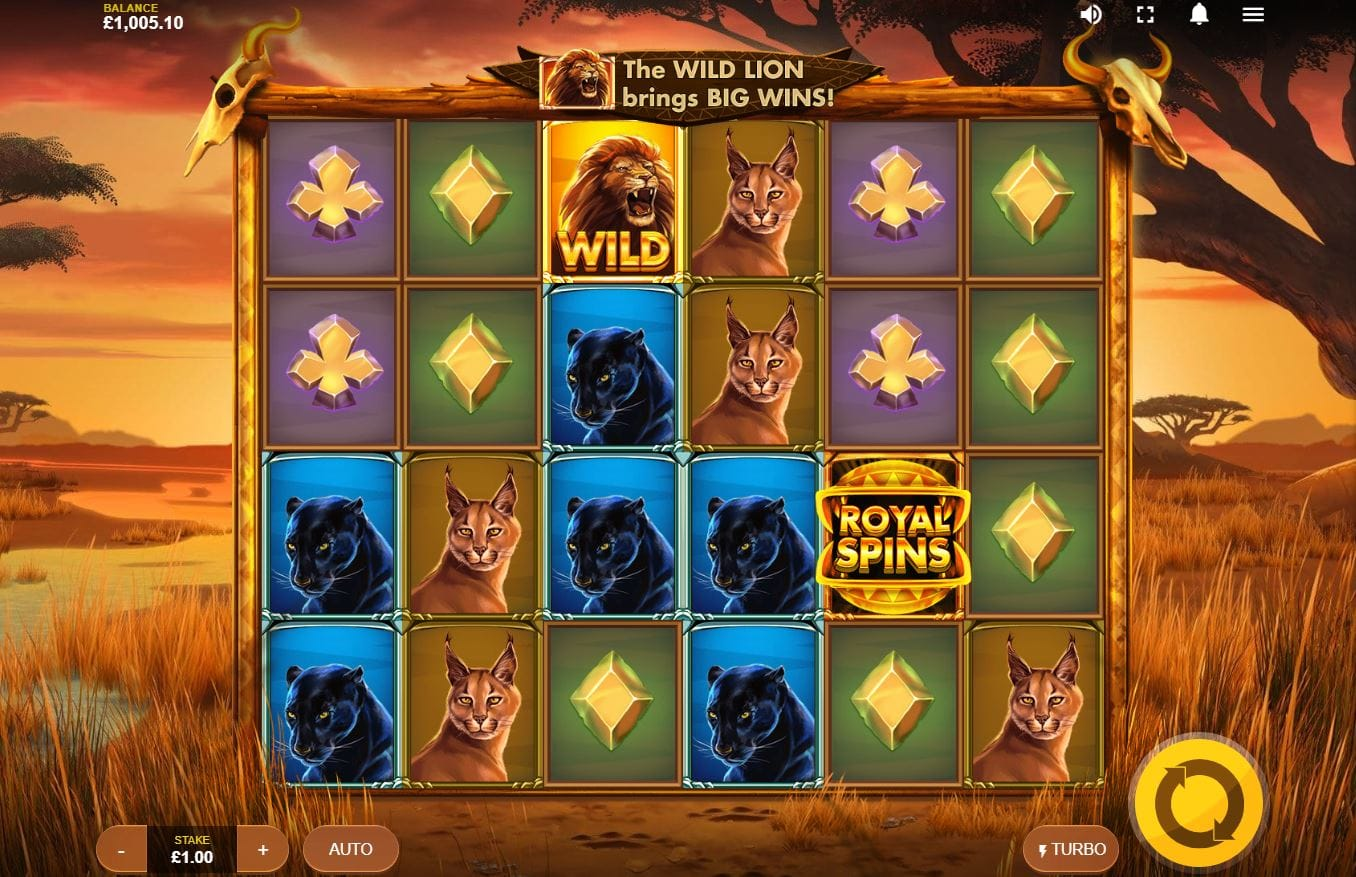 Wild Cat Multiline gameplay casino