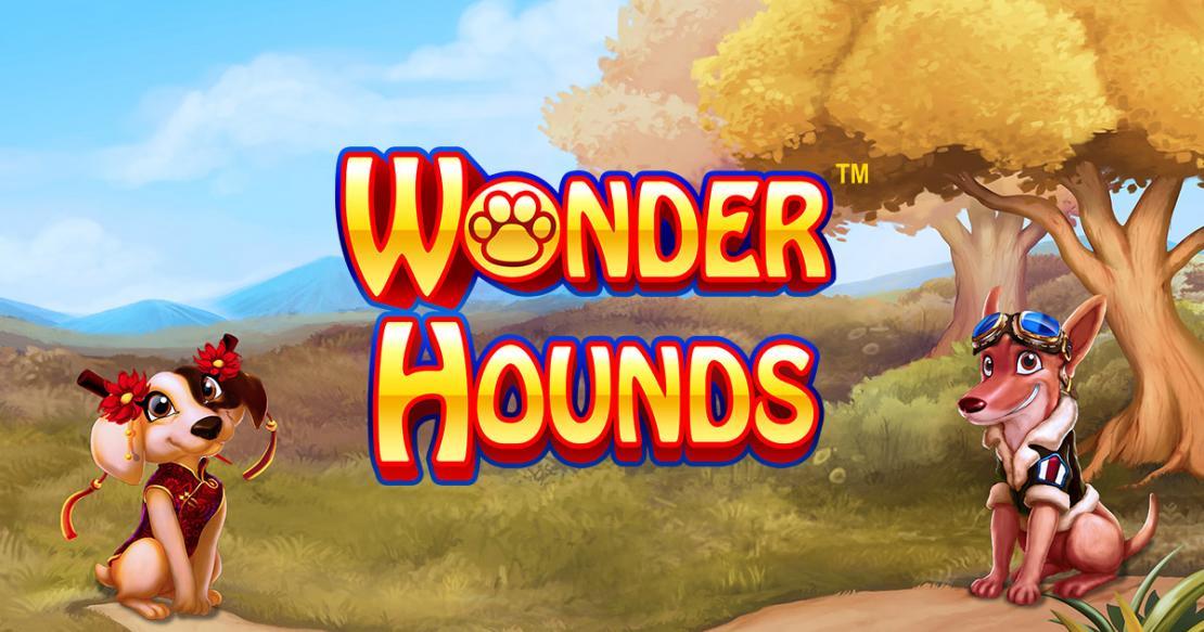 Wonder Hounds slot game logo